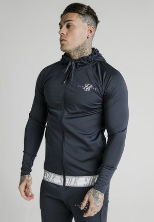 SCOPE TAPE ZIP THROUGH HOODIE - Zip-up hoodie - navy