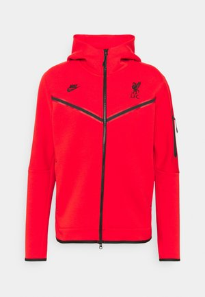LIVERPOOL FC HOODIE - Article de supporter - rush red/black