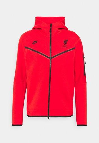 LIVERPOOL FC HOODIE - Squadra - rush red/black