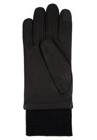 Calvin Klein Jeans - CUFF GLOVES - Gloves - black - 1
