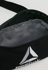 Reebok - WAISTBAG - Bum bag - black - 4
