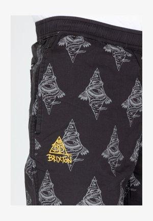 BB STEADY TAPER  - Tracksuit bottoms - black