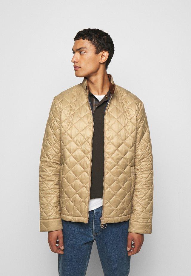 BIDDEL QUILT - Light jacket - sand