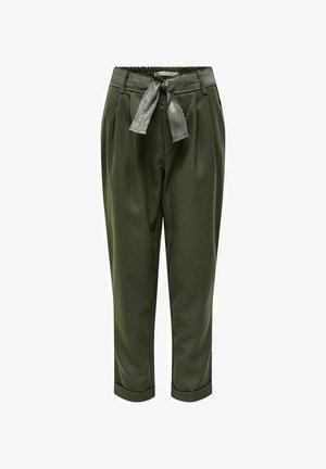 HOSE LOOSE FIT - Pantaloni - khaki