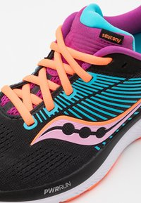 Saucony - GUIDE 14 - Stabilty running shoes - future black - 5