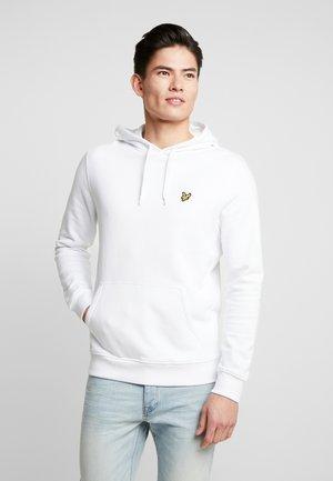 HOODIE - Luvtröja - white