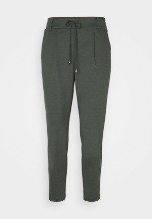 FINE PANT - Tracksuit bottoms - khaki green