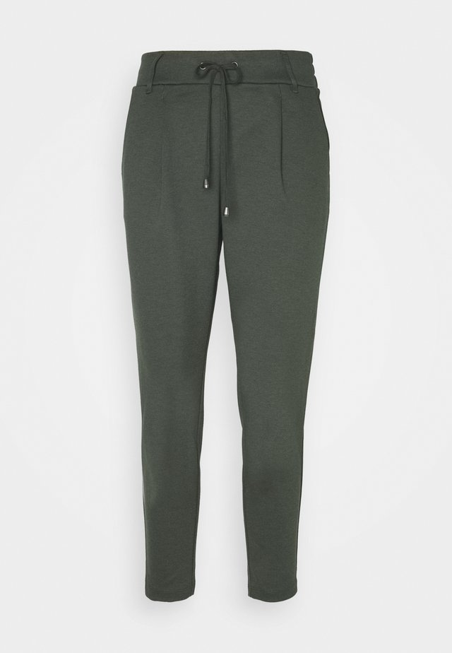 FINE PANT - Tracksuit bottoms - khaki green