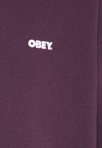 Obey Clothing - RESISTANCE - Sweatshirt - blackberry wine - 2