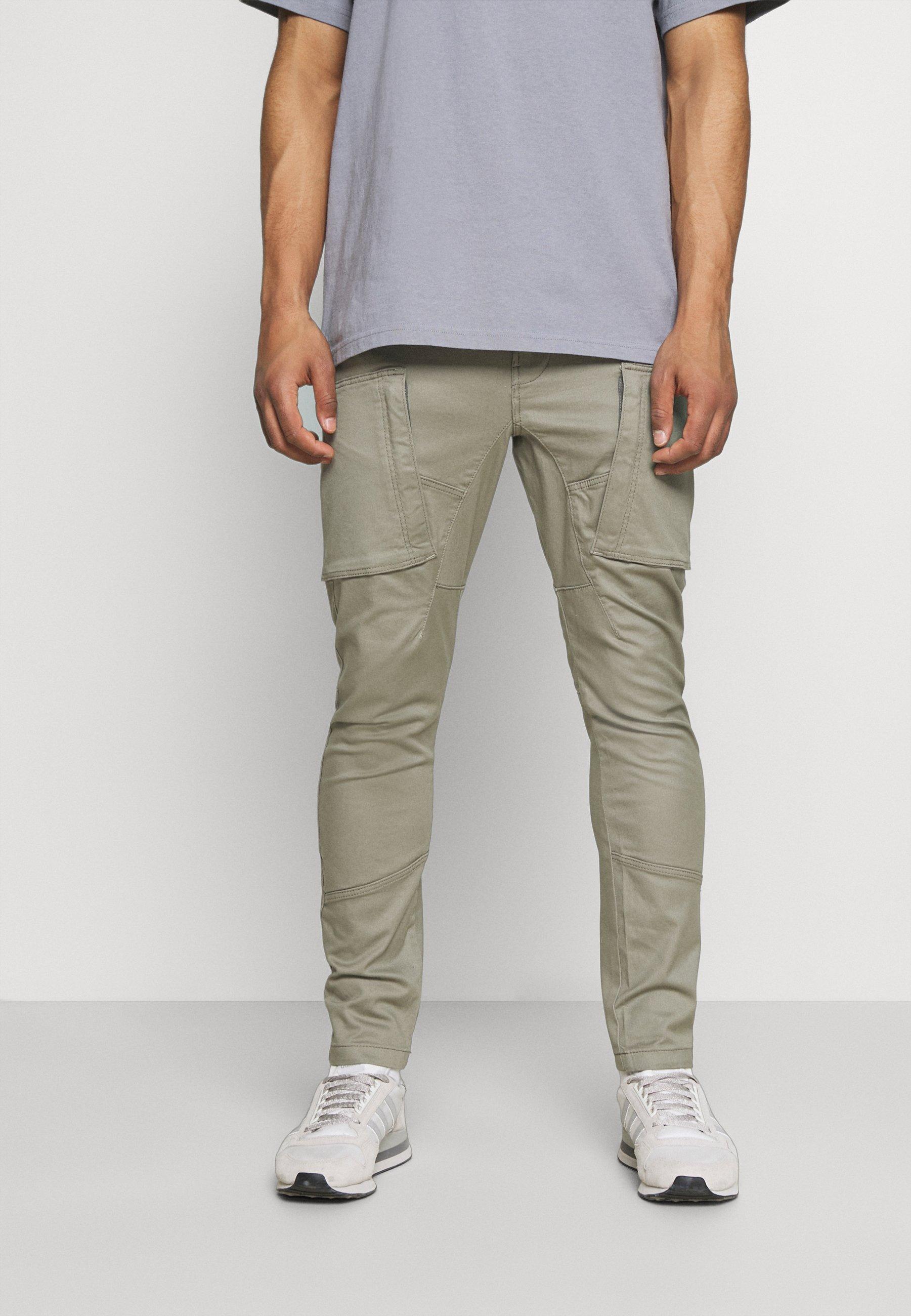 Men ZIP 3D CARGO - Cargo trousers