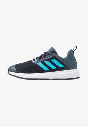 ESSENCE - Handball shoes - legend ink/signal cyan/signal green