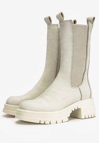 Inuovo - Boots - nb bone ubn - 1