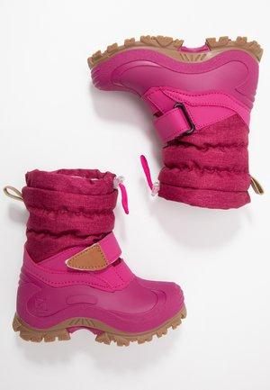 FINN - Bottes de neige - burgundy