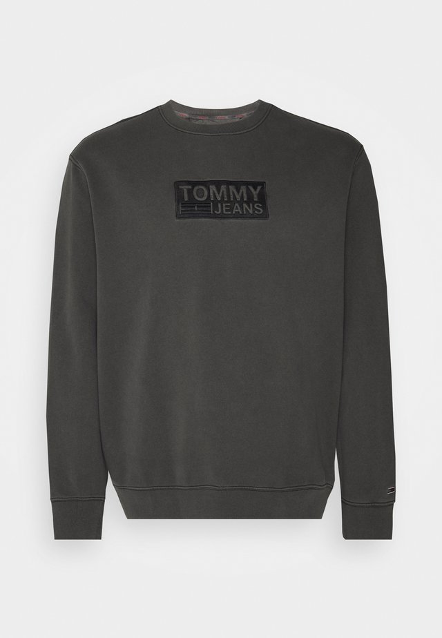 TONAL LOGO CREW - Sweatshirt - black