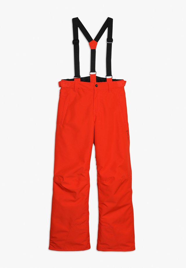 FOOTSTRAP BOYSSNOWPANTS - Pantaloni da neve - heat