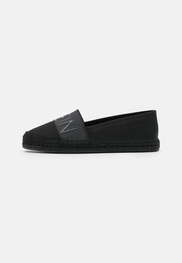 ROPED TOE - Espadrilles - black