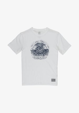 TOO LATE STUMP BOY - Print T-shirt - off white