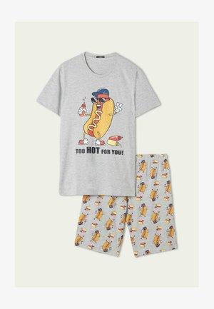 SET - Pyjama set - grigio mel.chiaro st.hot dog