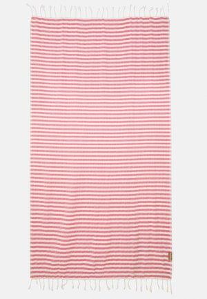 BEACHPLAID STRIPES - Accessorio da spiaggia - ecru/pink