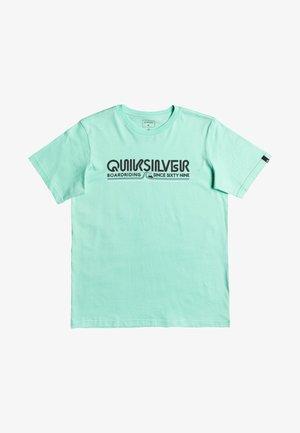LIKE GOLD SS YTH - Print T-shirt - cabbage