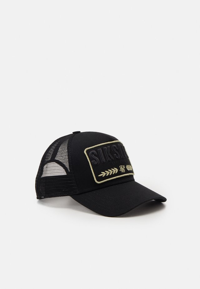 REEF TRUCKER - Cap - black /gold