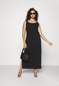 Vero Moda Curve - VMADAREBECCA ANKLE DRESS - Maxi dress - black - 1