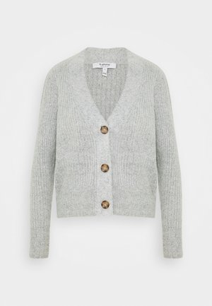 NORA  - Strickjacke - mid grey melange