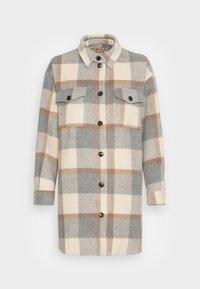 Stella Nova - EMMY - Classic coat - grey/creme/brown checks - 3
