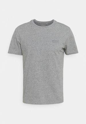 KURZARM - T-shirt basic - black melange