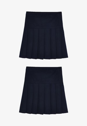 2 PACK  - Jupe trapèze - blue