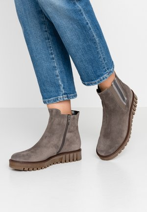 Platform ankle boots - wallaby