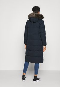 Superdry - LONGLINE FAUX FUR EVEREST COAT - Winter coat - eclipse navy - 2