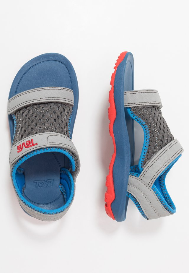 Walking sandals - drizzle/ dark gull grey