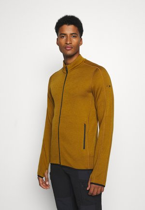MENS ELEMENTAL ZIP - Zip-up hoodie - curry
