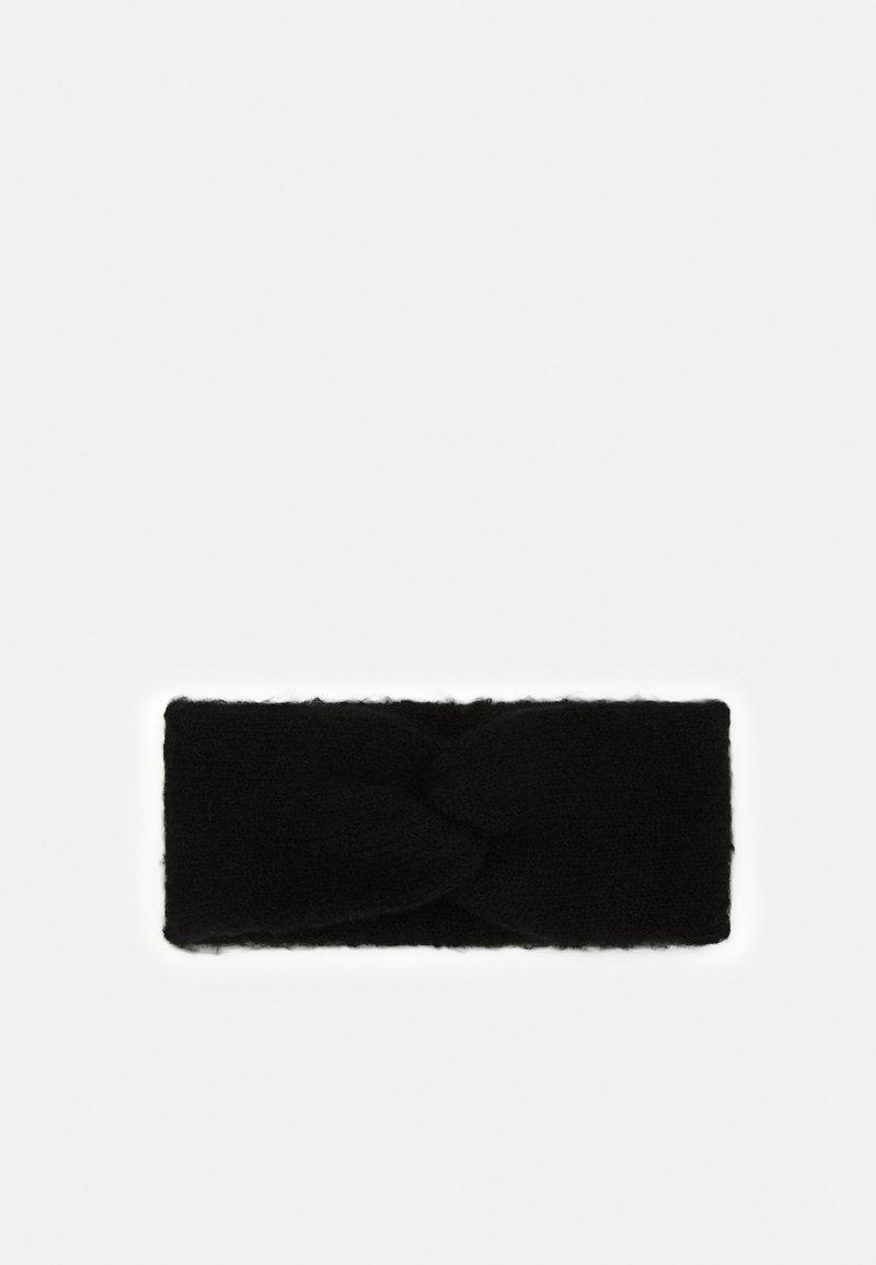 Lindex - HEADBAND TWIST - Ear warmers - black