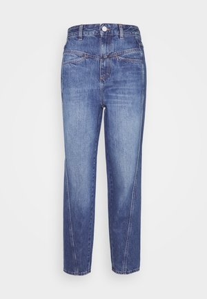 PEDAL TWIST - Straight leg jeans - mid blue