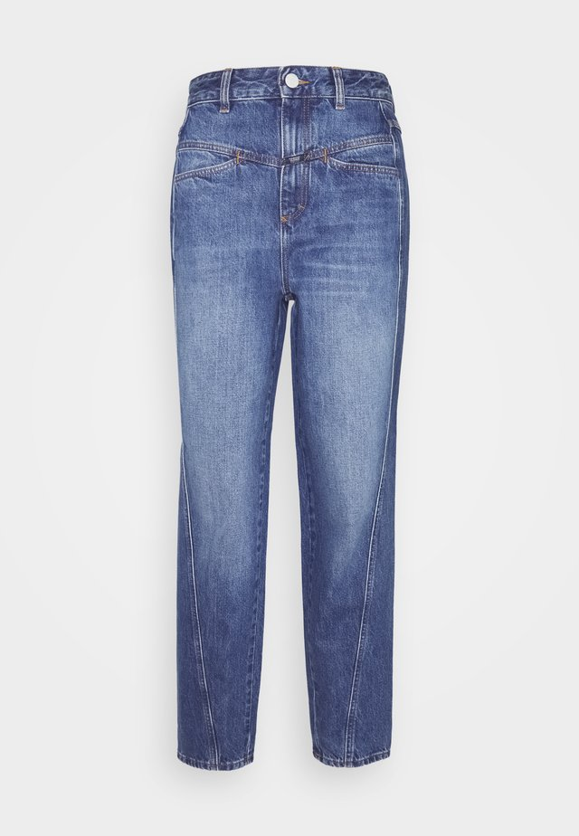PEDAL TWIST - Jeans Straight Leg - mid blue