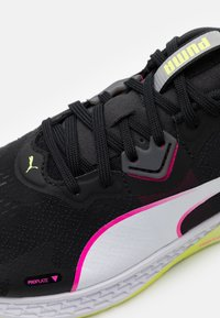 Puma - SPEED 500 2 - Competition running shoes - black/fizzy yellow - 5