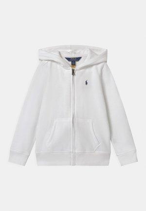 HOODIE - veste en sweat zippée - white