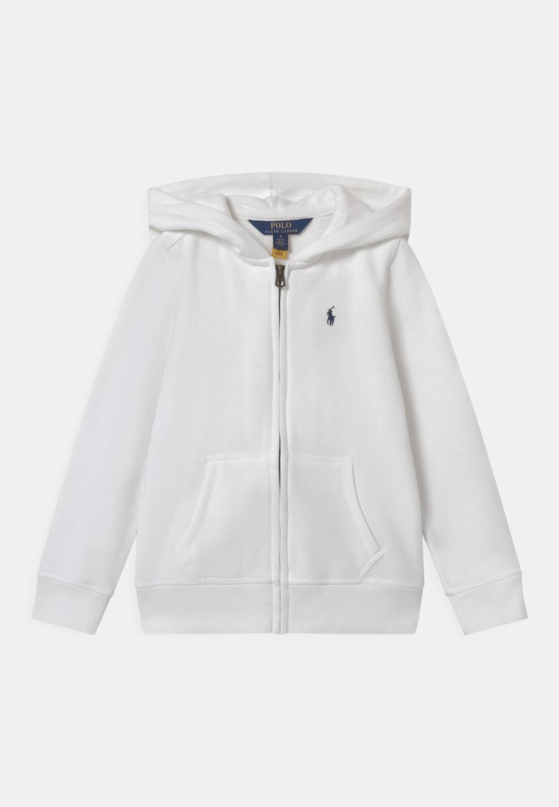 Polo Ralph Lauren - HOODIE - veste en sweat zippée - white