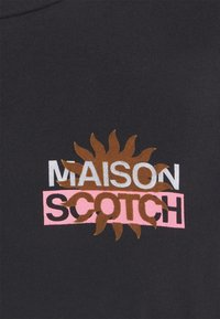 Scotch & Soda - SIGNATURE LOGO - Print T-shirt - black - 2
