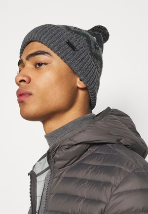 FAIRISLE HAT UNISEX - Beanie - grey/navy/green