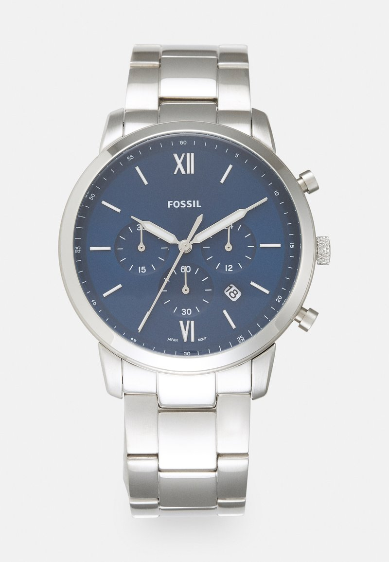 Fossil - NEUTRA - Chronograph watch - silver-coloured