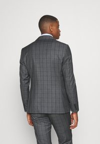 Isaac Dewhirst - CHECK SUIT - Oblek - blue - 3