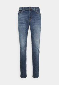 ONSDRAPER CARROT DAMAGE - Slim fit jeans - blue denim