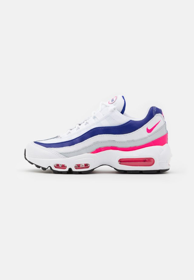 AIR MAX 95 - Baskets basses - white/hyper pink/concord/pure platinum/black