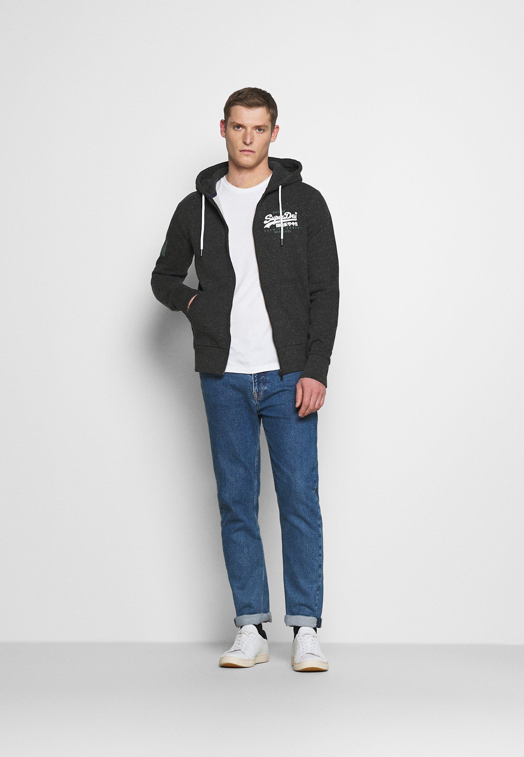 Men DUO ZIPHOOD - Zip-up sweatshirt