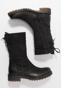 Felmini - CASTER - Lace-up boots - black - 3