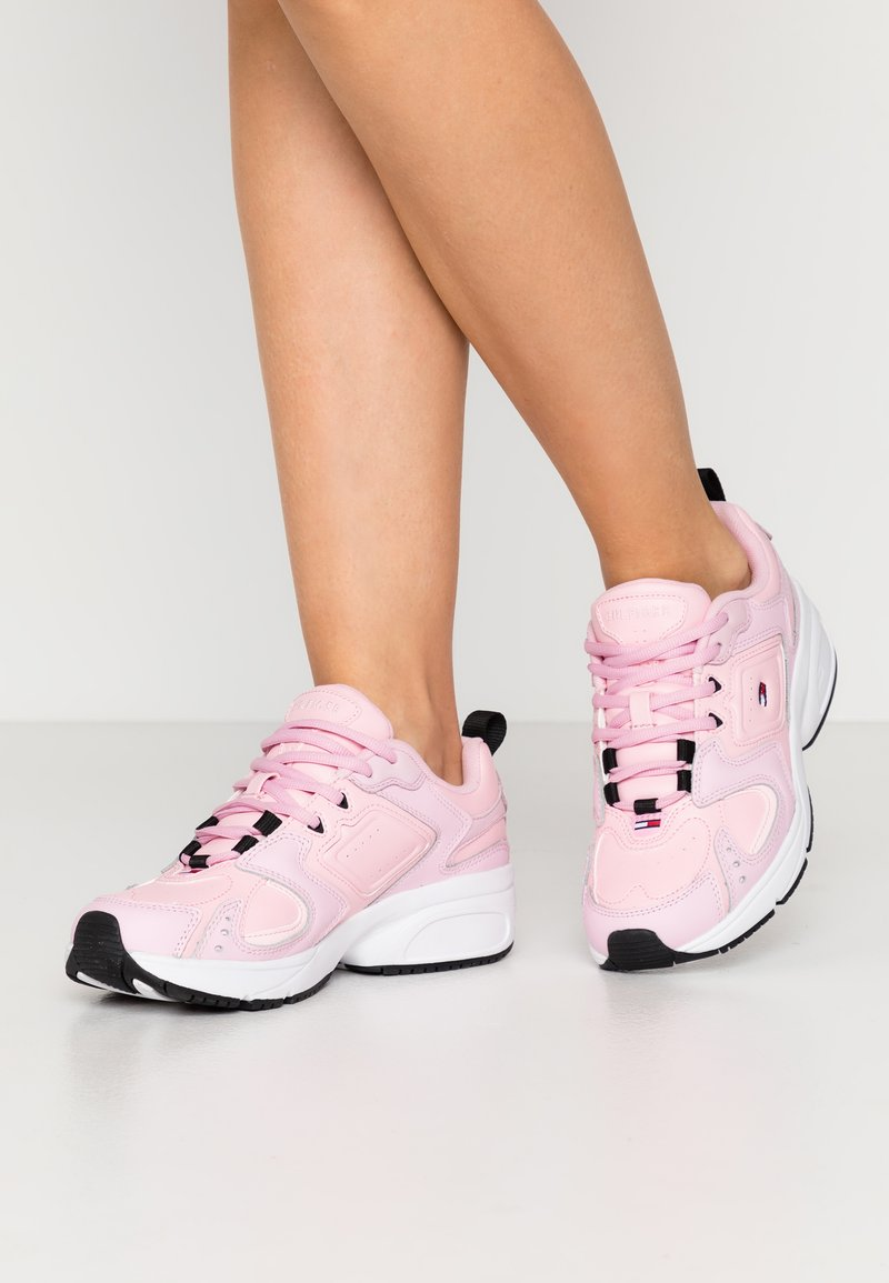 Tommy Jeans - HERITAGE  - Sneakers - romantic pink