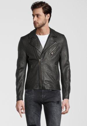 TRISTAN  - Leren jas - black